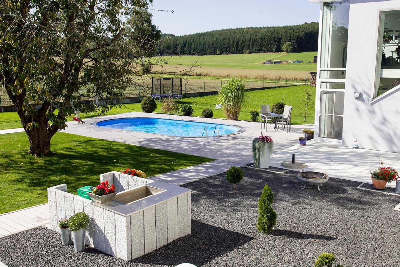 Pools stahlwandpools pool mit stahlwand for Stahlwandbecken oval