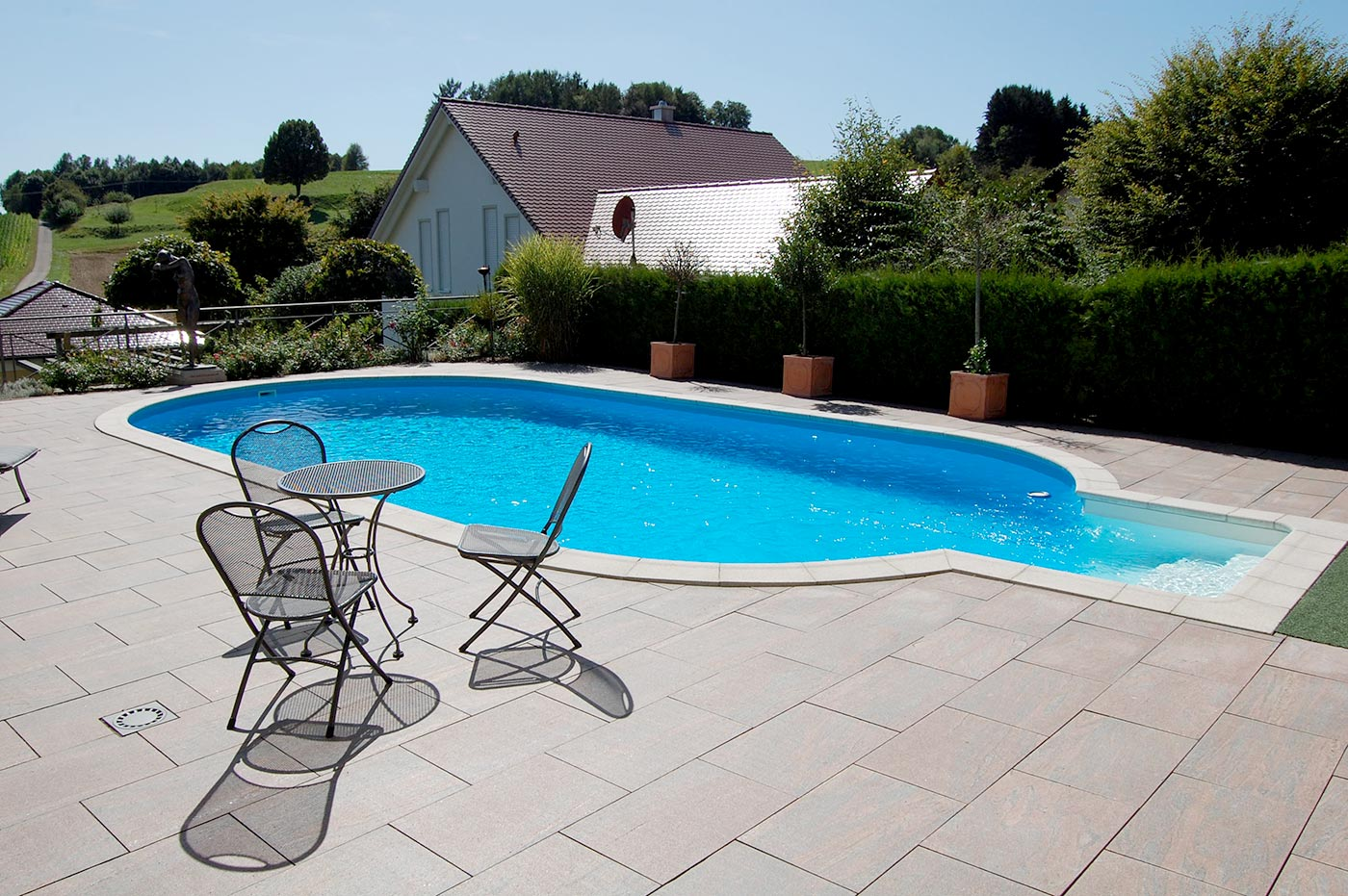 Pools stahlwandpools pool mit stahlwand for Garten pool stahlwand