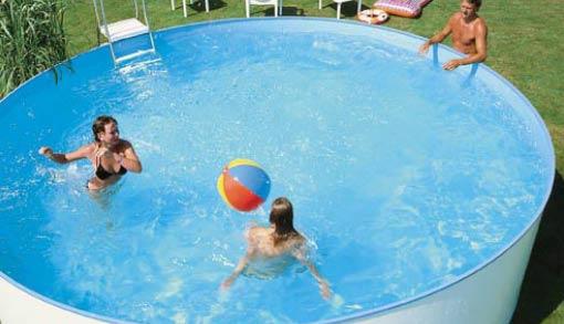 Pool-Angebot: Poolset Stahlwandpool Rio