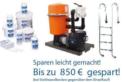 Bild: Pool-Angebot bis zu EUR 850 sparen