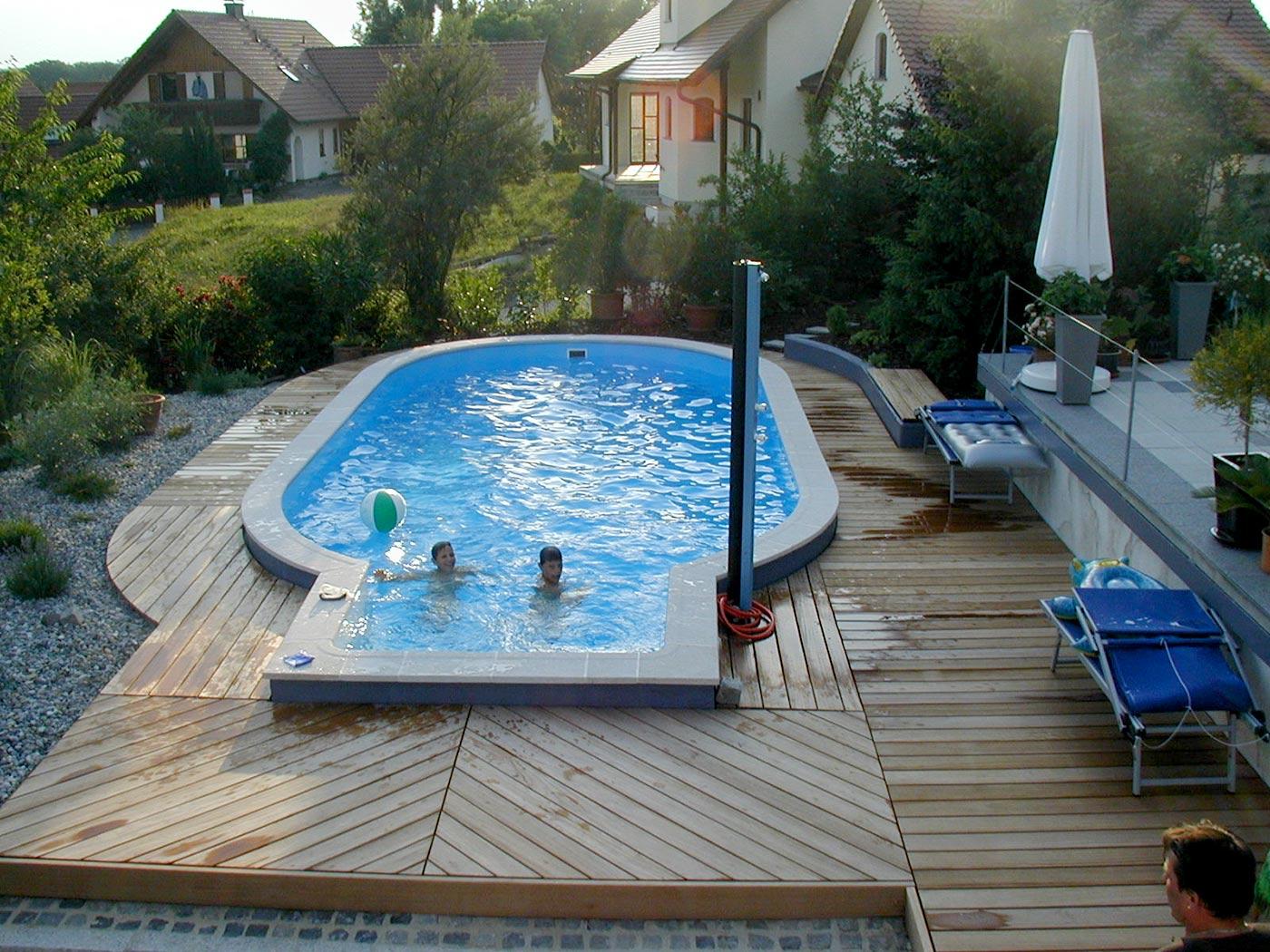 Stahlwandpool von stegmann ihr pool fachmann aus ried for Gartenpool oval
