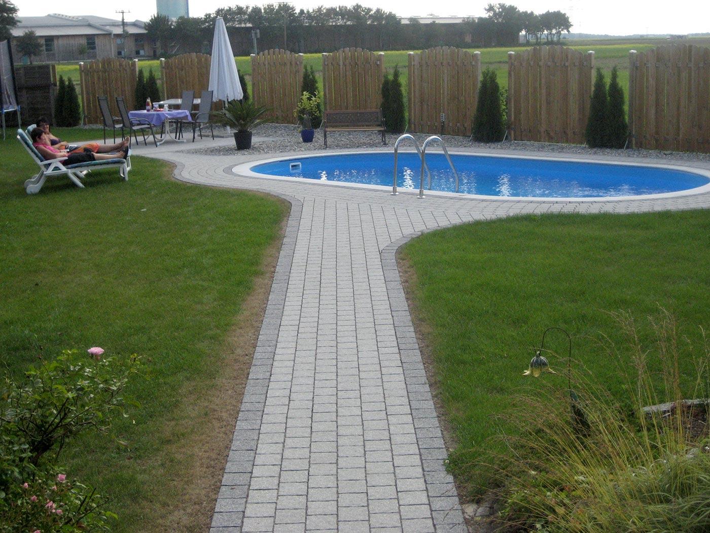 Favorit Stahlwandpool von Stegmann, Ihr Pool-Fachmann aus Ried KH73