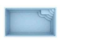 Bild von Polyesterpool Atlantis