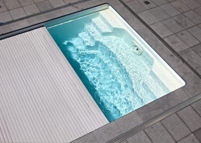 Polyesterpool Einstückbecken Aquacomet
