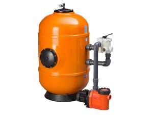 Pool Filteranlagen DWH mit GKF-Kessel