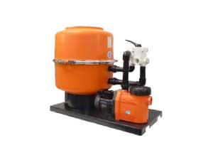 Pool Filteranlagen DWS mit Kunststoffkessel