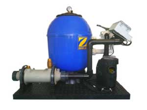 Pool Filteranlagen ZODIAC mit Heizkombination ZPF-5212HT