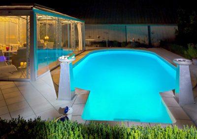 Poolbeleuchtung und Poolbeleuchtungen Poolzubehör