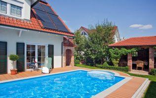Solaranlage BK250 und KB350 als Poolheizung