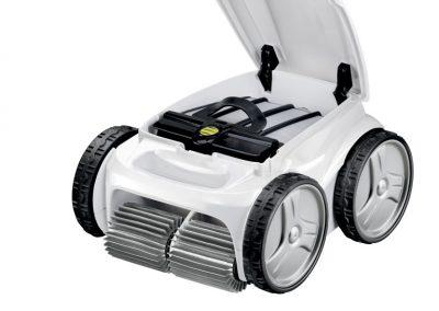 Poolroboter Poolreinigung mit Polaris white