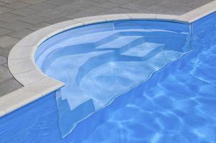 Pooltreppe Marbella runder Einstieg