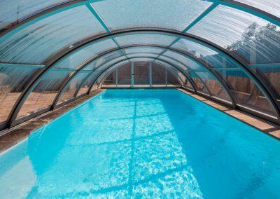 Poolüberdachung und Poolüberdachungen