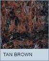 Poolzubehör Beckenrandstein Granit Tan Brown