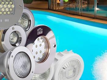 Poolzubehör: Poolbeleuchtung und Poolbeleuchtungen