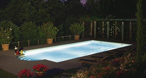 Poolzubehör Poolbeleuchtung und Poolbeleuchtungen