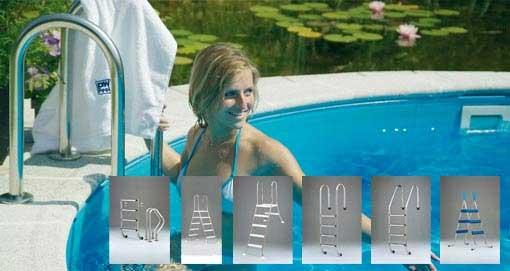 Poolzubehör Poolleitern Leitern für Pools